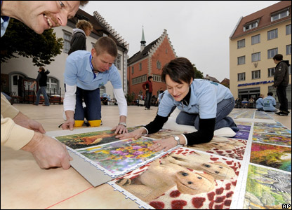 World's largest jigsaw record attempt