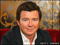Rick Astley as he looks now