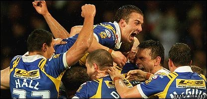 Leeds win Super League's Grand Final