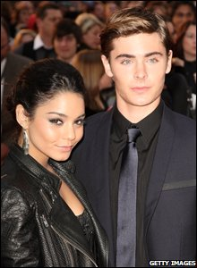 Vanessa Anne Hudgens and Zac Efron (Photo by Dave Hogan/Getty Images)