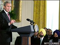 美國總統布什