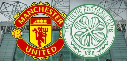 Manchester United and Celtic logos