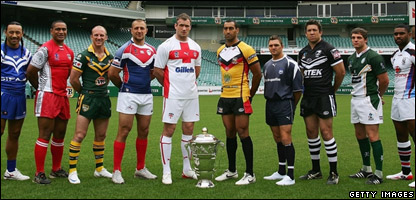 The 10 Rugby League World Cup captains