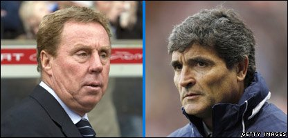 Harry Redknapp and Juande Ramos