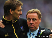 Tony Adam and Harry Redknapp