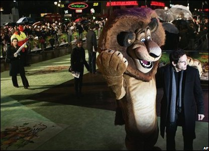 Premiere of Madagascar 2 in London