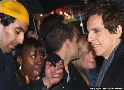 Actor Ben Stiller signs autographs for fans