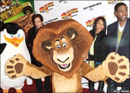 Alex the Lion and friends