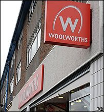 A Woolworths shop