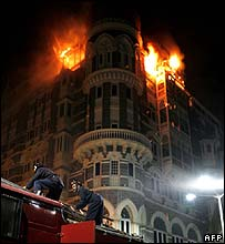 The Taj Mahal hotel in Mumbai