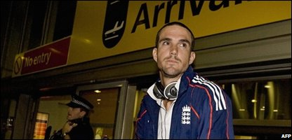 England's cricket captain Kevin Pietersen