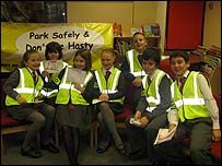 The junior road safety team