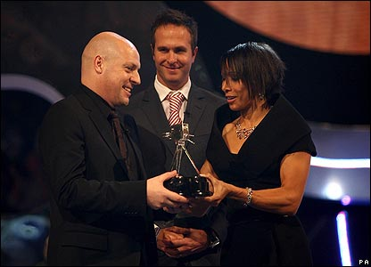 Dave Brailsford, Michael Vaughan and Dame Kelly Holmes