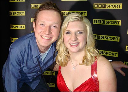 Newsround's Adam and Rebecca Adlington