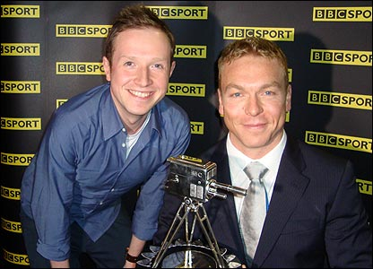 Newsround's Adam and Chris Hoy