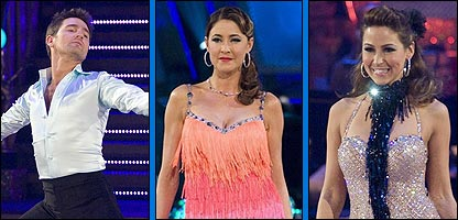 Tom Chambers, Lisa Snowdon and Rachel Stevens