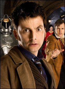 David Tennant and other members of the cast