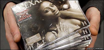 Alexandra Burke's single Hallelujah