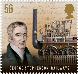 George Stephenson stamp