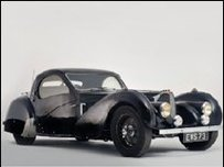 Bugatti - picture from Bonhams