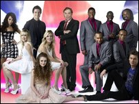 Andrew Lloyd Webber and the Eurovision hopefuls