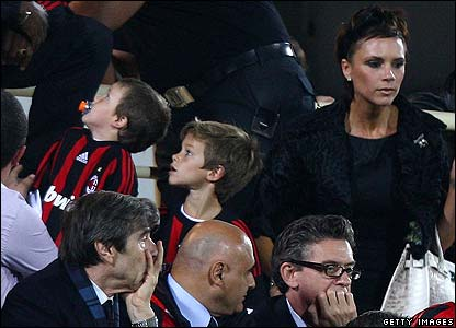 Victoria Beckham and children