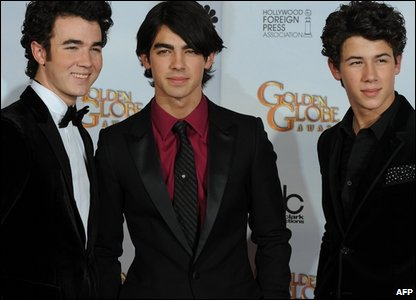 The Jonas Brothers at the Golden Globes