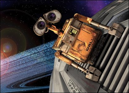 A still from Wall-E (Pic from AP/Walt DisneyCo)