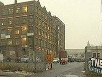 The TNS Knitwear factory in Manchester