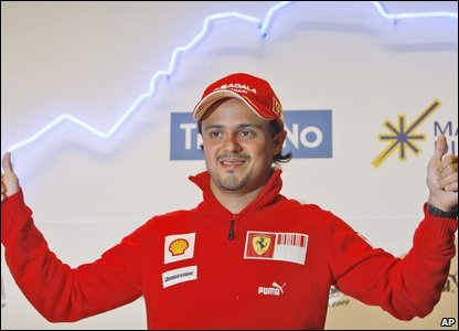 Ferrari Brazilian driver Felipe Massa (AP Photo/Luca Bruno)