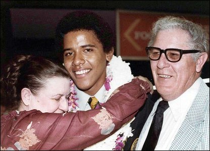 Barack Obama and his grandparents