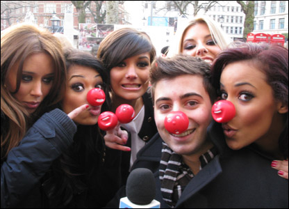 Ricky with The Saturdays
