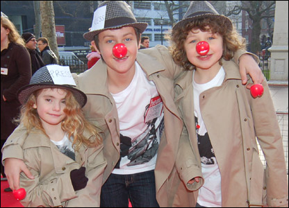 The kids from the cast of Outnumbered