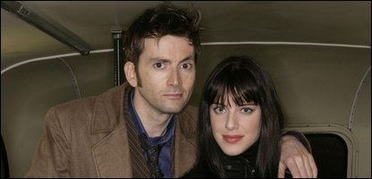 Michelle Ryan as Lady de Souza with David Tennant as The Doctor