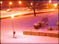 Snowy pic snet into Newsround