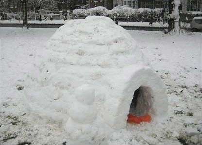 Igloo on Clapham Common