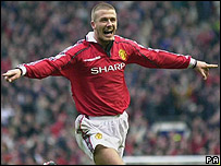 David Beckham at Manchester United
