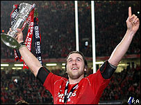 Wales captain Ryan Jones