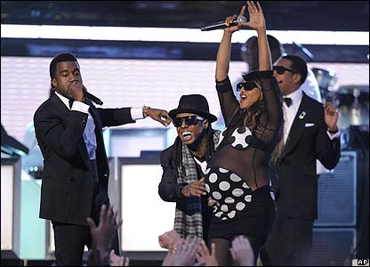 Kanye West, Lil Wayne, M.I.A. and Jay-Z