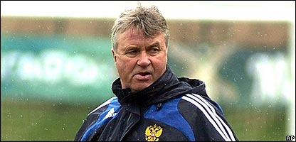 Guus Hiddink is the new Chelsea coach