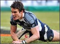 Thom Evans of Scotland (Photo by Mike Hewitt/Getty Images)