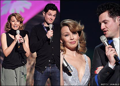 Kylie Minogue and Matt Horne