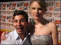 Ricky and Taylor Swift
