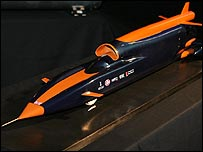 The Bloodhound car
