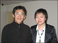 BBC記者子川與魏德聖合影