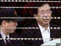 陳水扁步出台北土城看守所(19/1/2009)