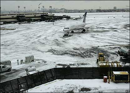Newark Liberty International Airport in New Jersey