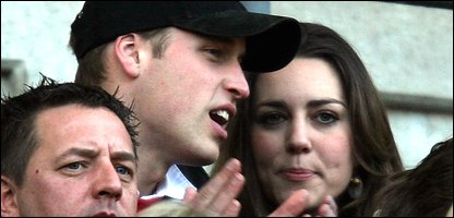 Prince William and Kate Middleton (photo by David Davies/PA Wire)