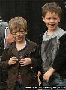 Jade's sons Bobby-Jack and Freddie
