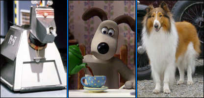 K9, Gromit and Lassie